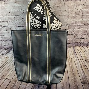 GIVENCHY PARFUMS FAUX LEATHER TOTE